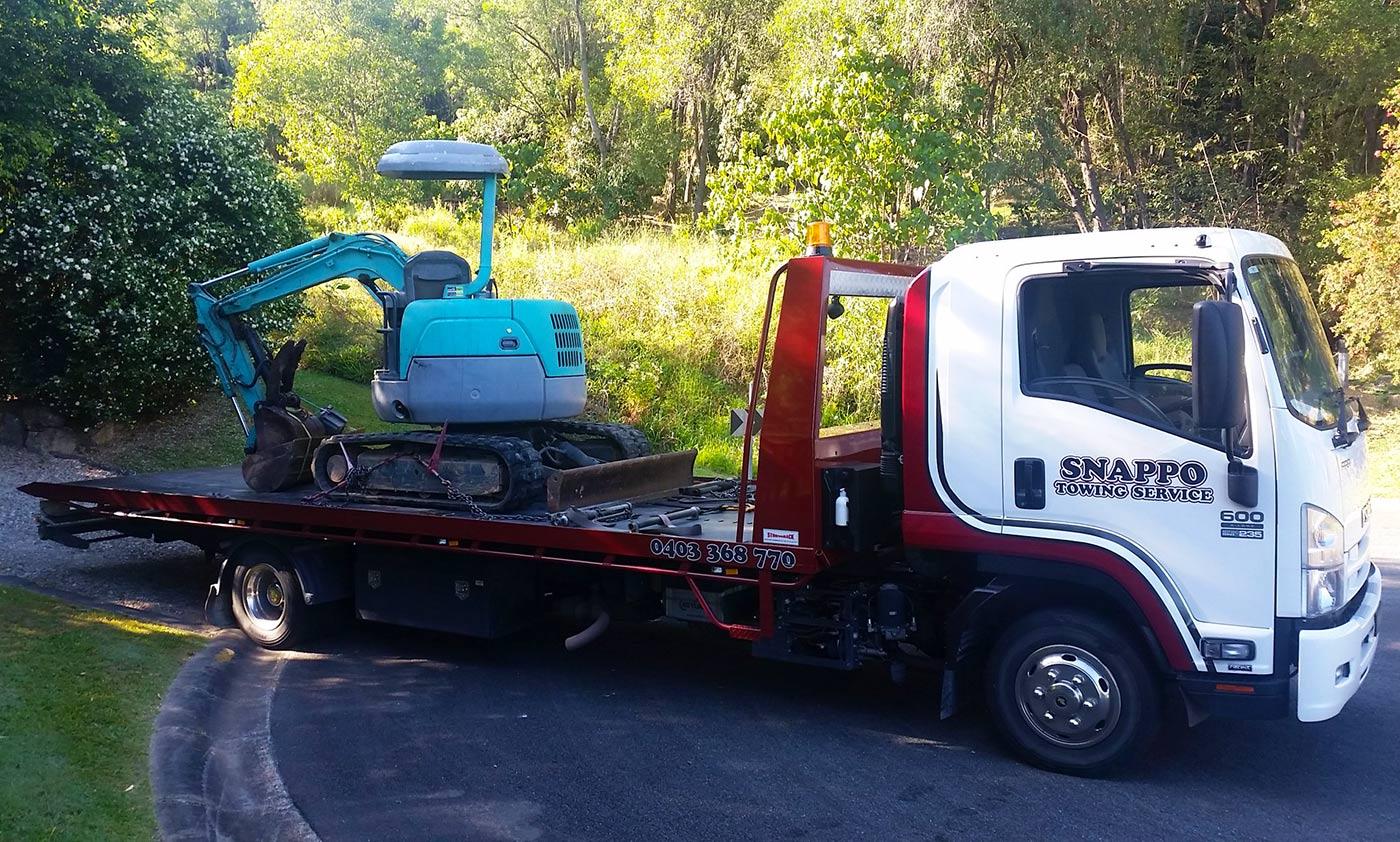 excavator-transport
