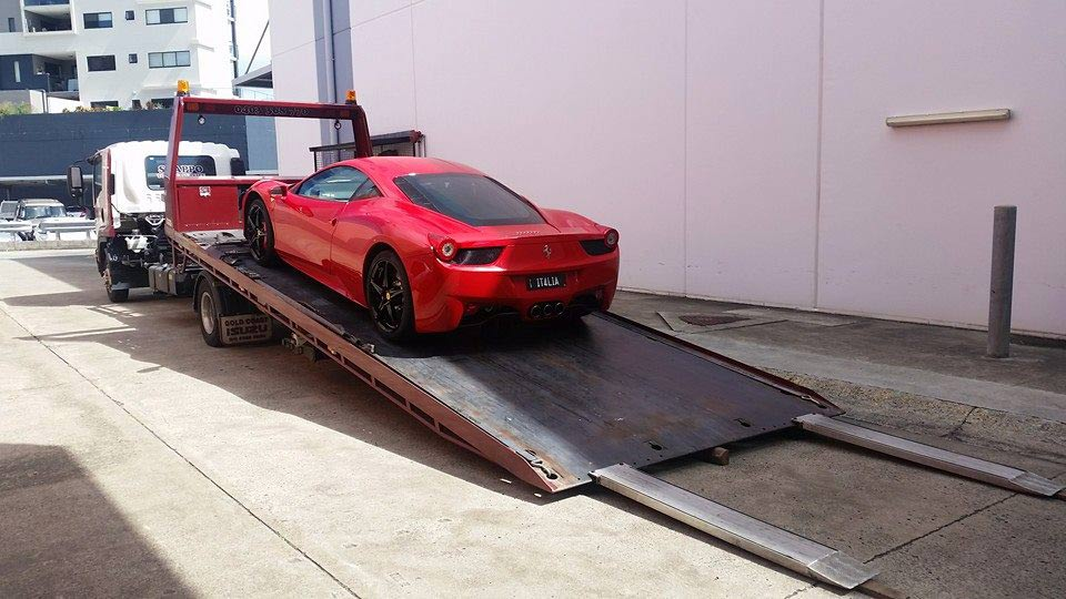 supercar-towing